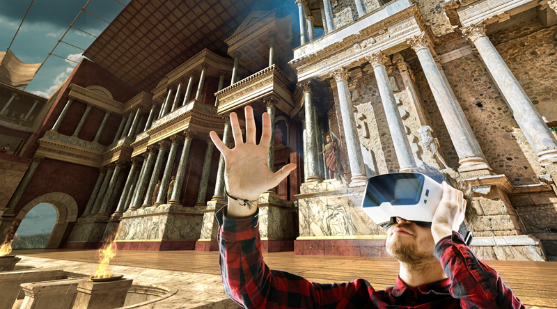 Teatro Romano de Mérida en Realidad Virtual