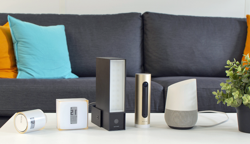 google home ya se integra con las soluciones para el hogar inteligente de netatmo casadomo. Black Bedroom Furniture Sets. Home Design Ideas