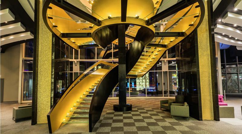 Zonas comunes de Las Américas Golden Tower Hotel