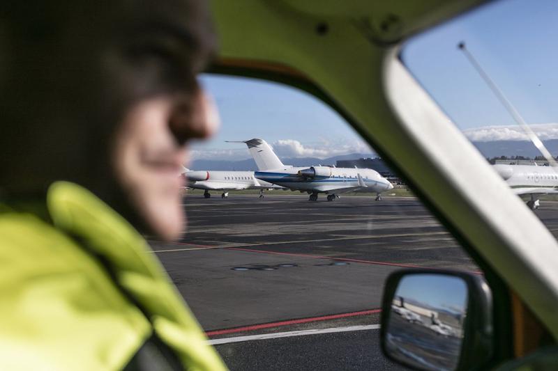 Aeropuerto de Ginebra equipado con material Schneider Electric