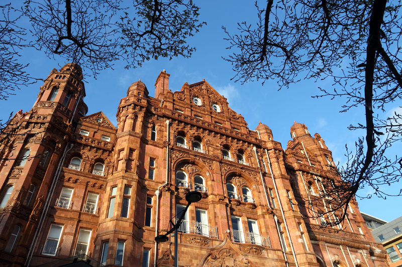 Hotel Midland Hotel de Manchester equipado con sistema de sonido Bosch