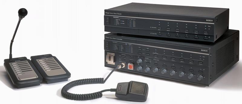 Bosch Plena: sistema de alarma por voz