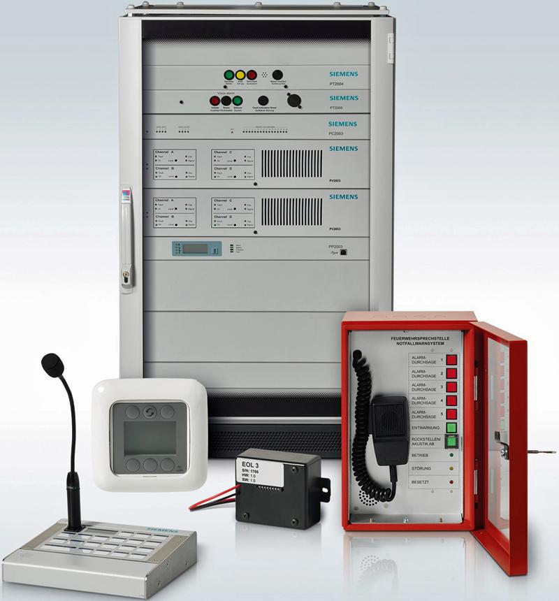 Sistema Cerberus Pace de Siemens Building Technologies