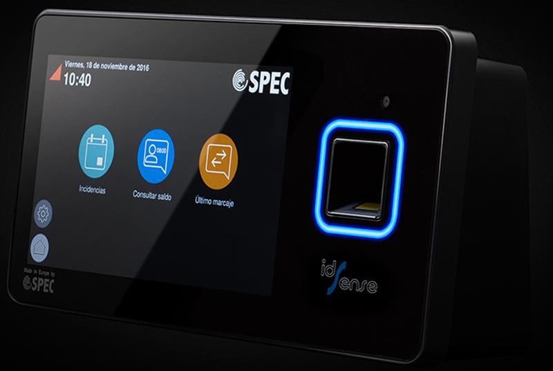 Control horario idSense de Grupo SPEC