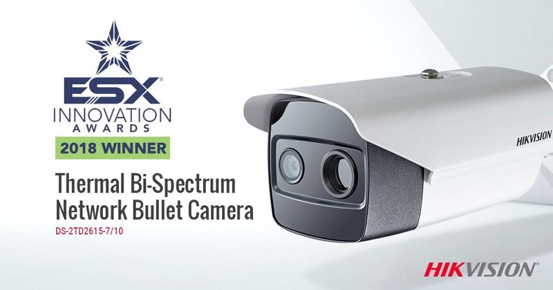 Hikvision recibe el premio ESX 2018 a la Innovación en Videovigilancia