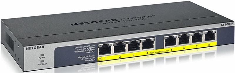 Netgear Switch No gestionable