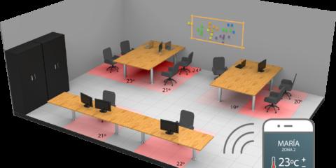Los pavimentos inteligentes de Plactherm implementan sensorización, IoT y Big Data para el ahorro de energía en los edificios