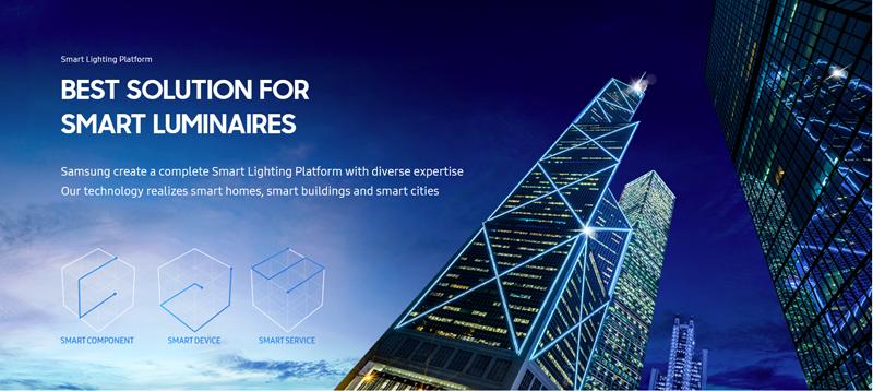 Samsung Smart Lighting: Iluminación para edificios inteligentes