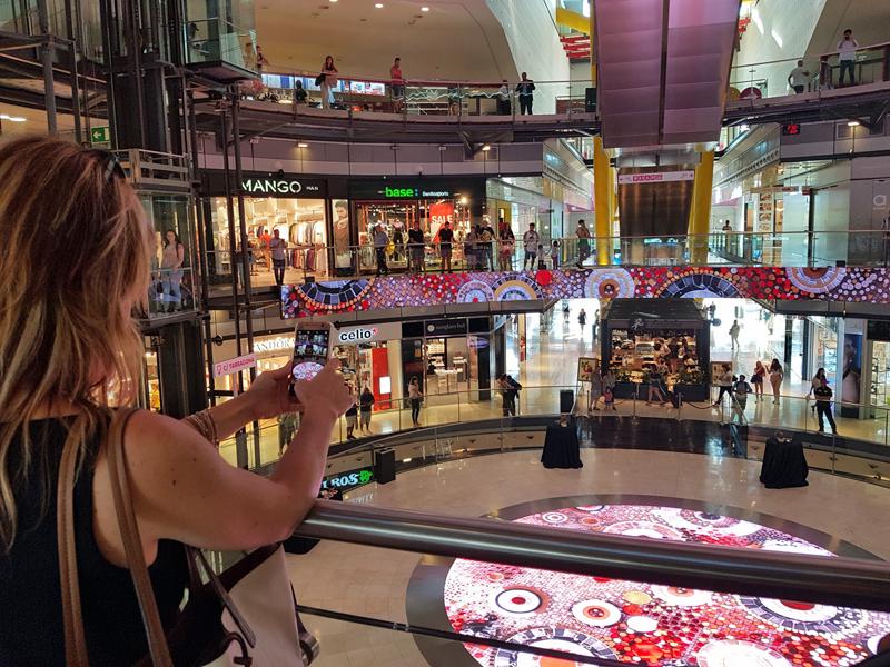 Trison ha digitalizado el Centro Comercial Arenas de Barcelona
