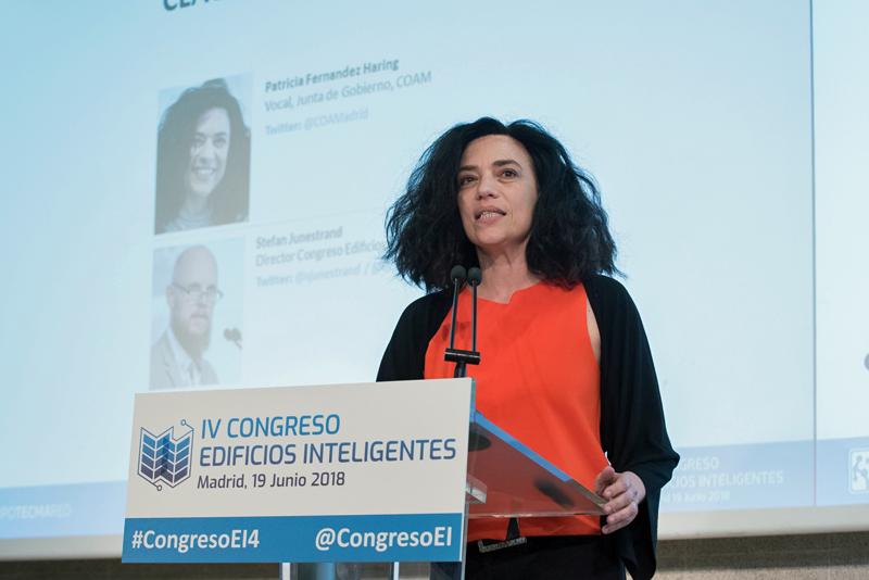 Patricia Fernández Haring, del COAM