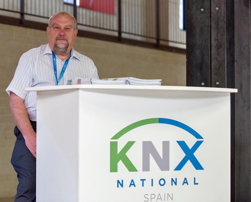 Stand de KNX en e IV Congreso Edificios Inteligentes