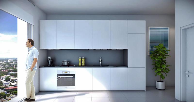 Interior de las viviendas de Smart Brickell