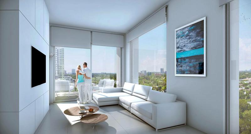Las viviendas están equipadas conun completo sistema de domótica