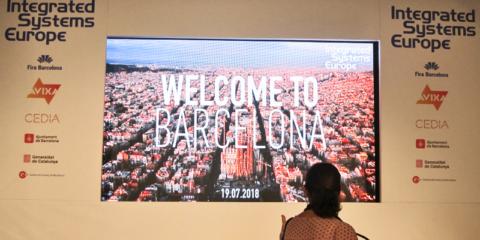 Barcelona da la bienvenida a ISE 2021