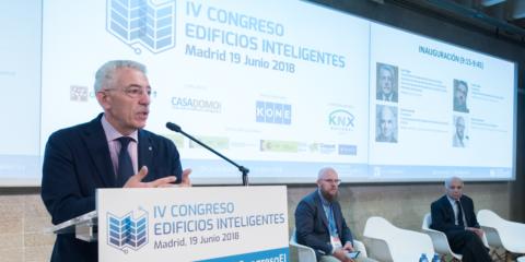 Inauguración IV Congreso Edificios Inteligentes