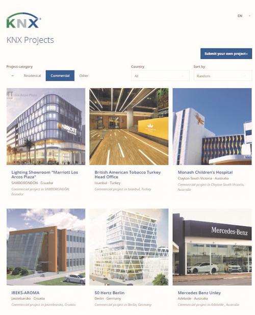 KNX Projects, plataforma para proyectos de edificios inteligentes