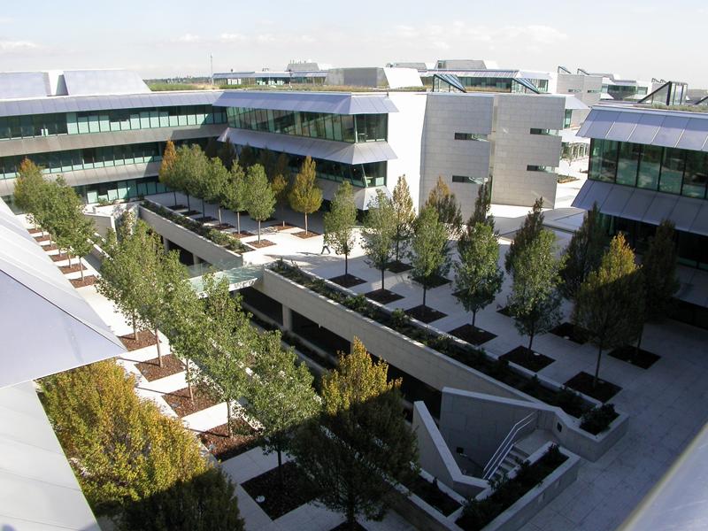 Sede de Zumtobel en Santander