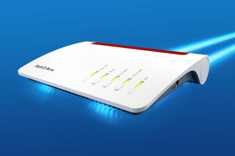 nuevo router de la empresa avm