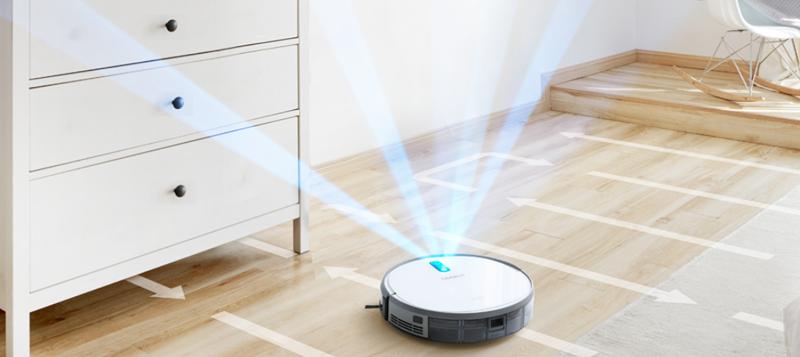 Ecovost lanza al mercado su nuevo robot aspirador capaz de realizar un mapa de la estancia.