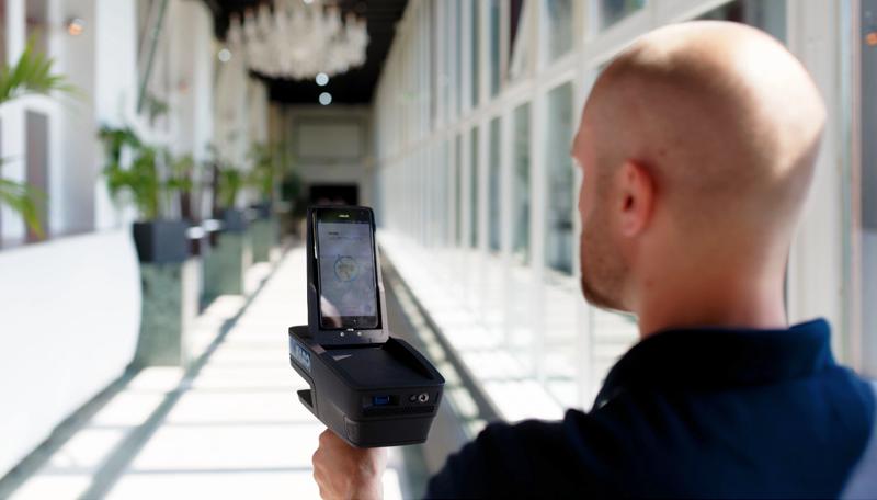 El escáner de Faro permite elaborar planos 2D de las estancias y personalizar los mapas para ofrecer el máximo de información posible.