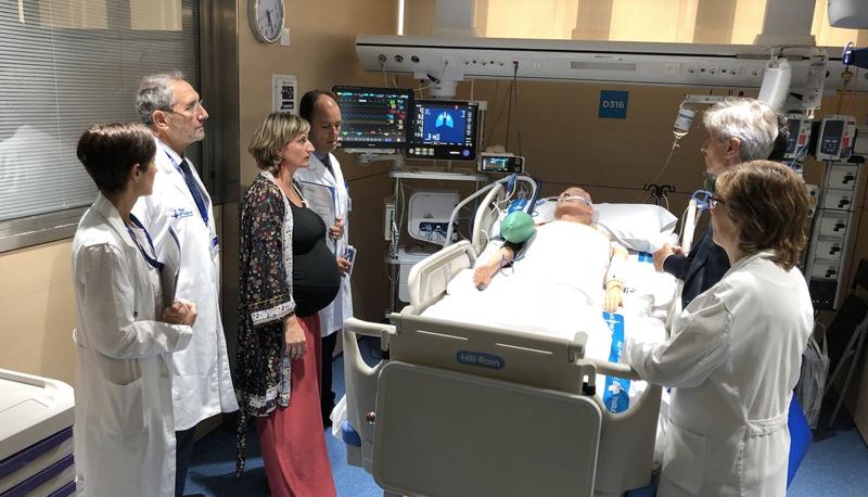 El Hospital Valle d'Ebron inaugura la primera Smart UCI.