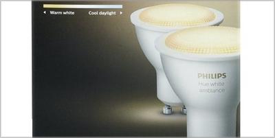 bombillas inteligentes de Philips