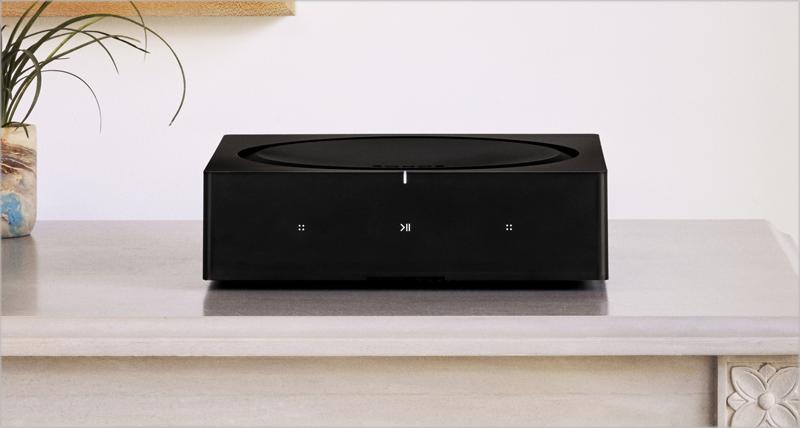AMP, nuevo amplificador inteligente de Sonos, puede controlarse por comandos de voz.
