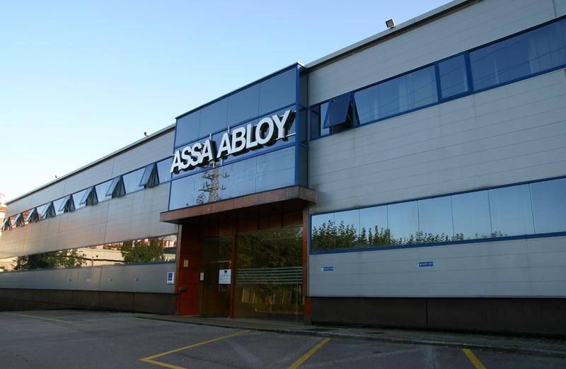 Sede en Irún de TESA ASSA ABLOY.