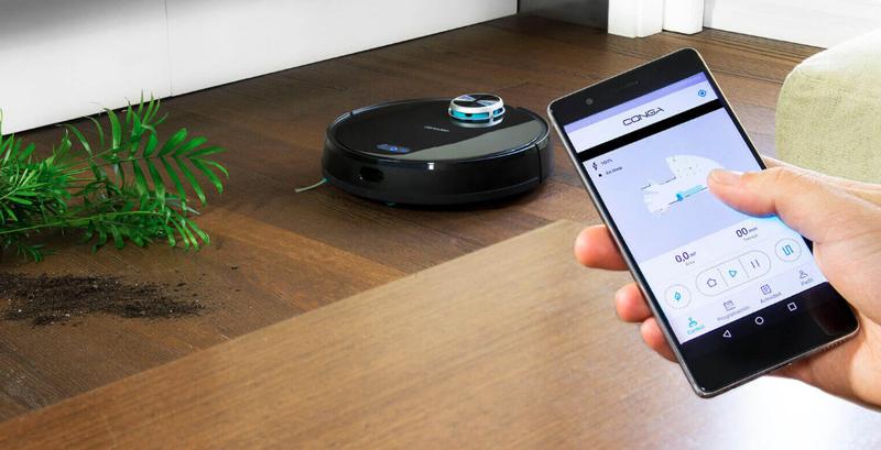 Cecotec se ayuda de la inteligencia artificial para mejorar el rendimiento de su robot aspirador.