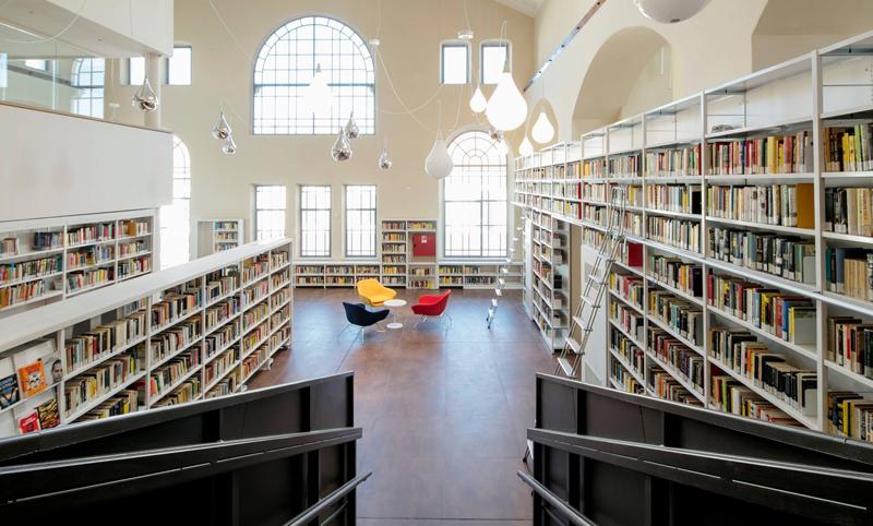 Bosch Security instala un nuevo sistema de control de incendios en la biblioteca italiana Beghi.