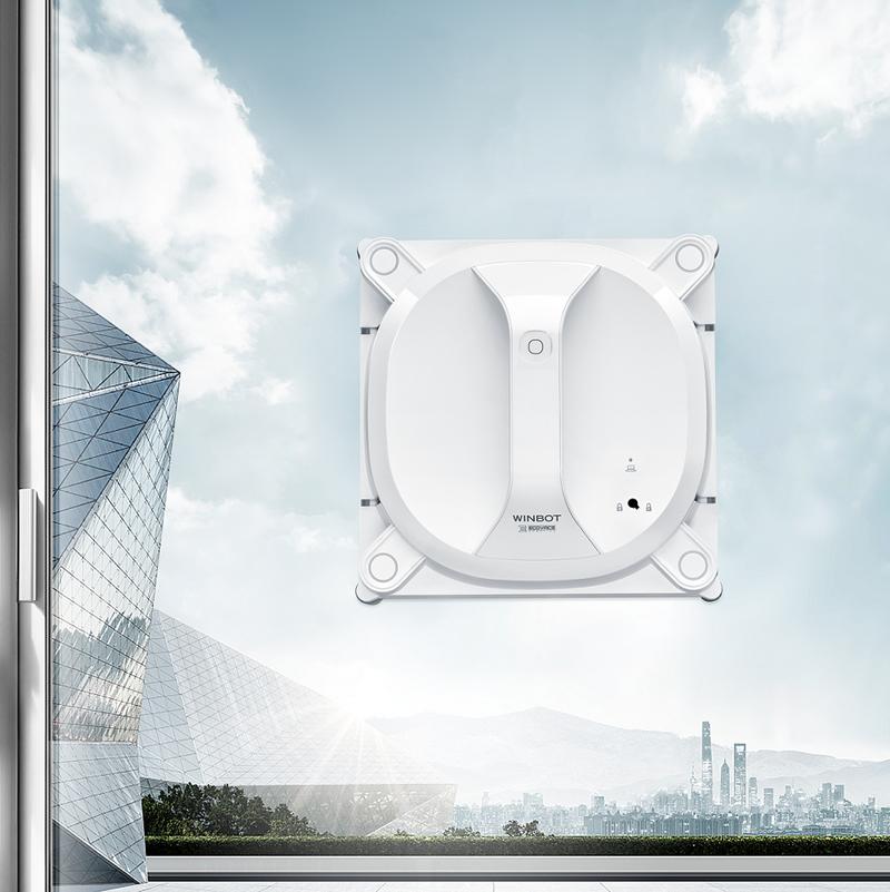 Ecovacs ha presentado su nuevo modelo de limpiacristales sin cables, Winbot X.