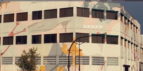 Nuevo mural en la sede FERMAX (Valencia): Art Factory 2018