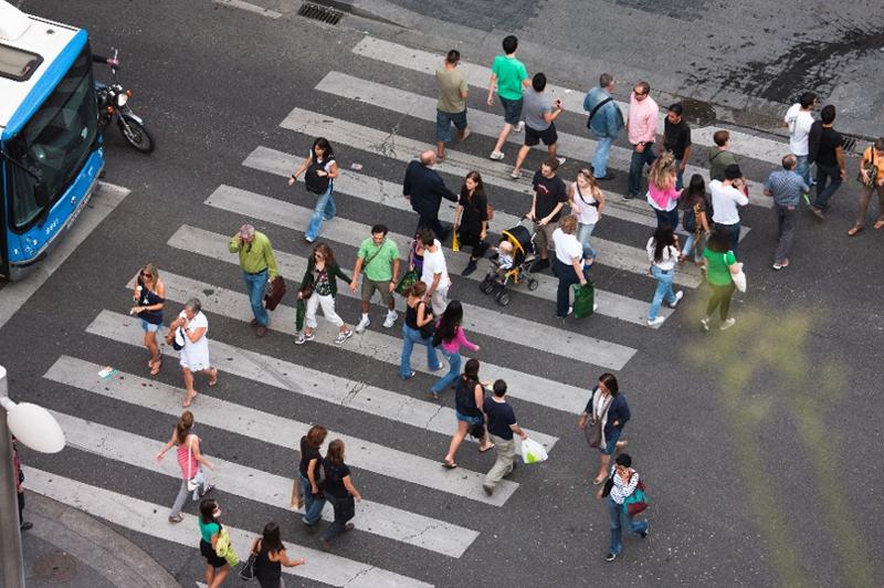 Figura 1. La urbanización y el desplazamiento hacia las ciudades hacen necesarias nuevas soluciones para los entornos urbanos.