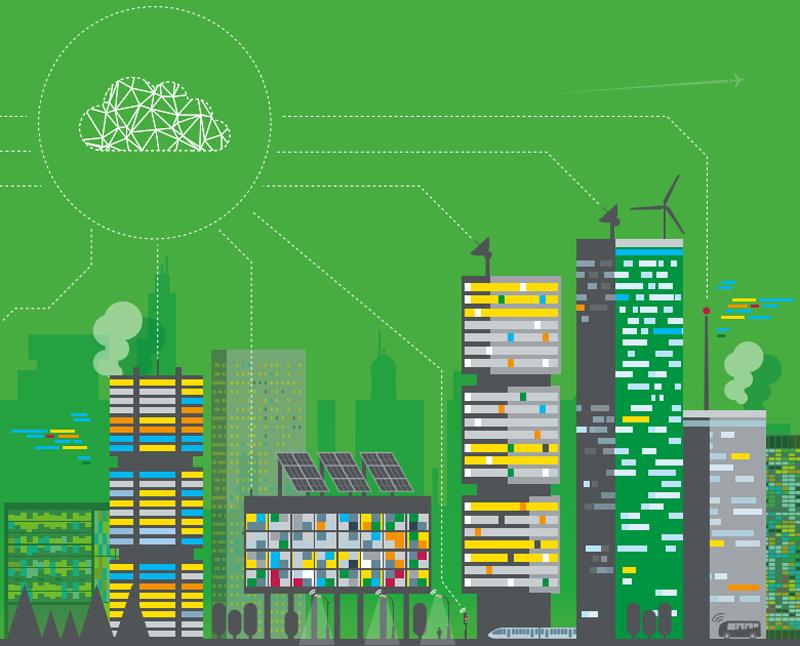 Según este informe, sin la existencia de edificios inteligente sería imposible la creación de ciudades inteligentes.