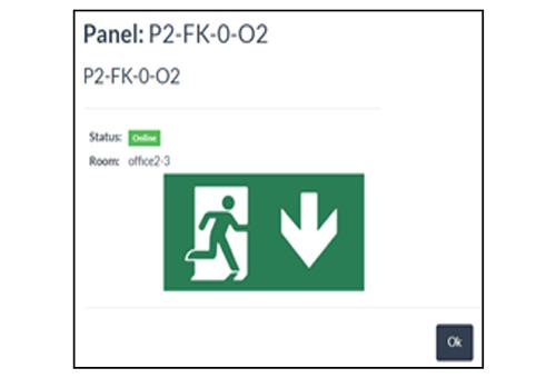 Figura 7. Información del panel adaptativo.