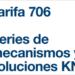 Tarifa 706 de Hager: Series de mecanismos y Soluciones KNX