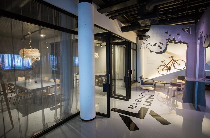 Magnetic Latvia está dividida en dos salas, las cuales pueden transformarse en una sola.