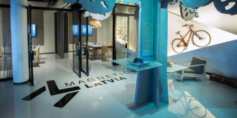 Magnetic Latvia, un centro de negocios interactivo en el Aeropuerto Internacional de Riga