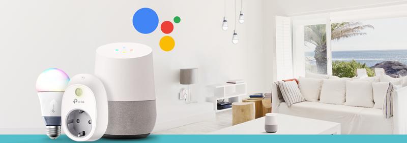 Tp-Link controla sus dispositivos inteligentes con el Asistente de Google.