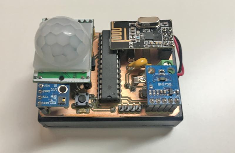 Sensores del primer prototipo. Encargados de recopilar la información necesaria para los algoritmos.