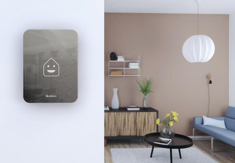 El sensor de calidad de Walter analiza la calidad del aire en las diferentes estancias de las oficinas y viviendas.