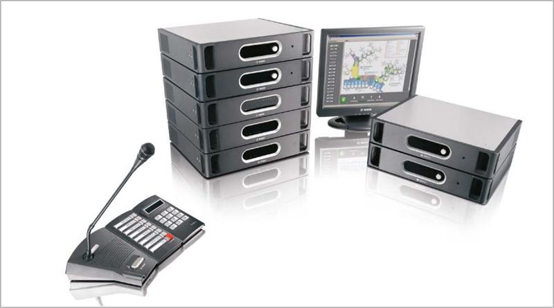 Praesideo de Bosch garantiza el funcionamiento constante a través de IP en caso de que la conexión por fibra óptica se estropee.