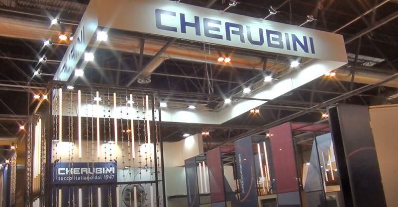 Cherubini mostró su nuevo dispositivo controlado por Bluetooth, Mago.