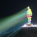 India instala proyectores láser para iluminar y crear un espectáculo audiovisual en la Estatua de la Unidad