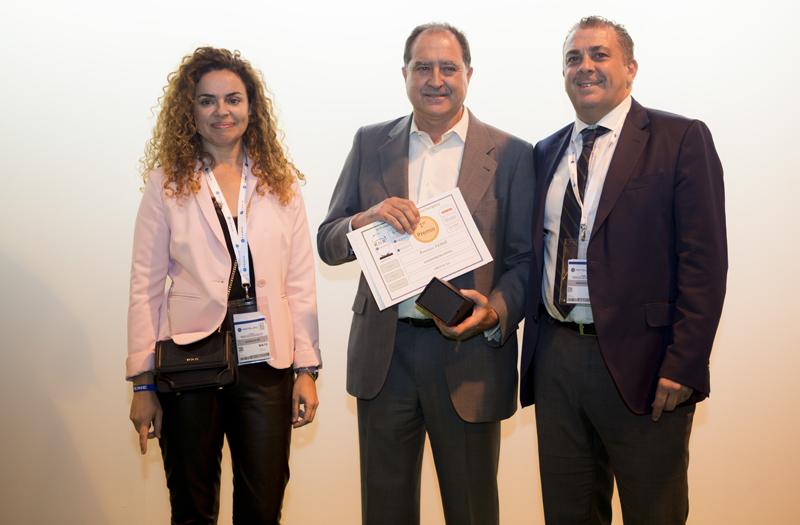 KNX entrega los III Premios Eficiencia Energética en Matelec 2018.