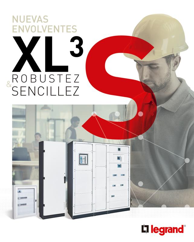 La gama XL3 S de cajas y armarios para componentes eléctricos cubren las necesidades de las edificaciones residenciales e industriales.