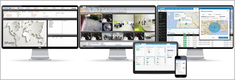 El software Maxxess InSIte proporciona una plataforma única para la gestión integral del edificio.