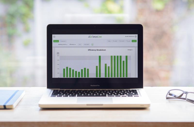 El software de SenzoLive facilita y ayuda a las empresas a gestionar sus espacios de trabajo.