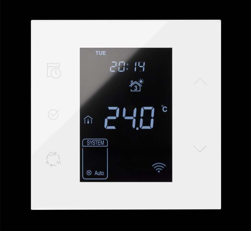 La serie Simon 100 ofrece una amplia gama de interruptores, enchufes y termostato inteligentes.