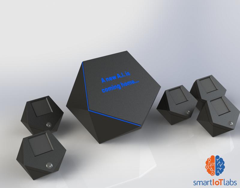 Último prototipo del asistente virtual de Miranda de Smart IoT Labs.